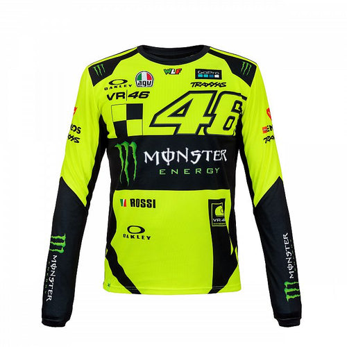 T-shirt VR46 Monza long sleeve official collection