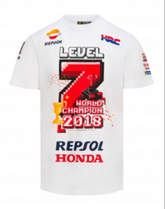 Marc Marquez t-shirt official level 7 world champion