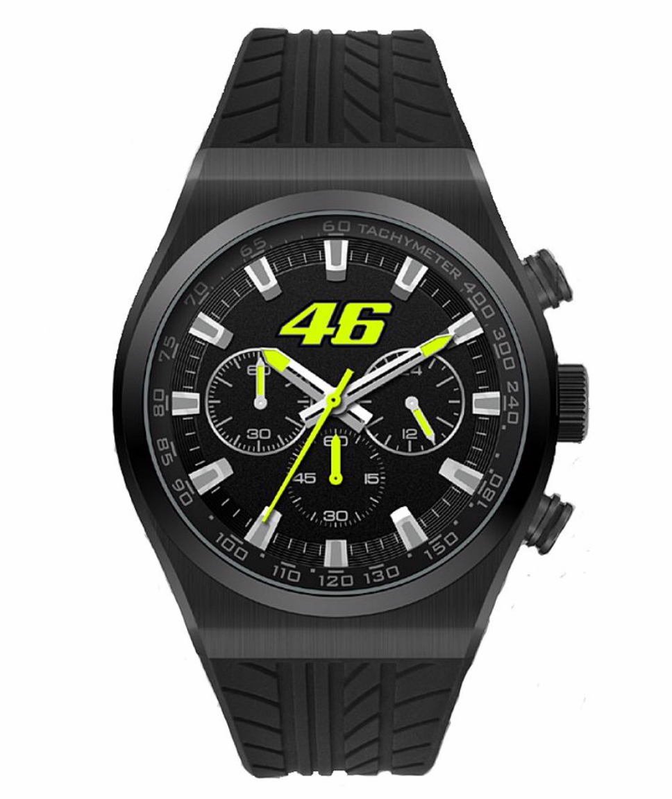 VR46 Official Chrono Watch
