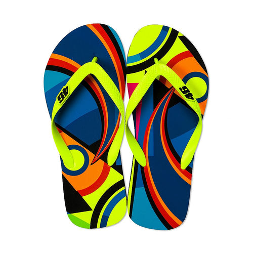 Valentino Rossi VR46 Moto GP Sun & Moon Sandals Official
