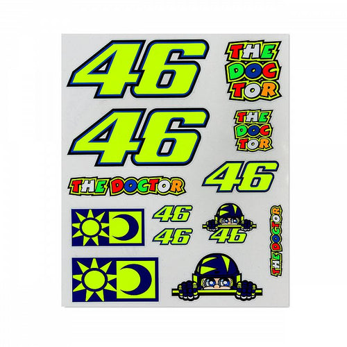 Sticker set VR46 large official collection