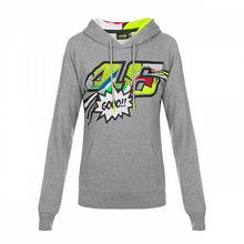 Load image into Gallery viewer, Hoody fleece VR46 Pop Art woman official collection