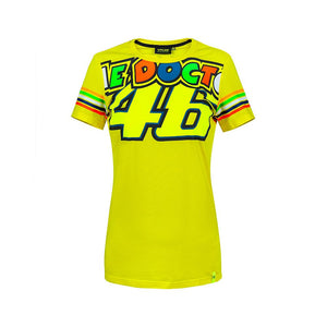 T-shirt The Doctor VR46 woman official Valentino Rossi collection