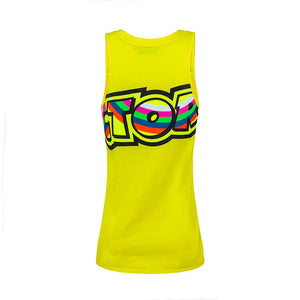 Tanktop The Doctor VR46 yellow woman official collection