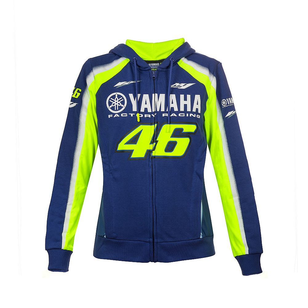 Hoodie fleece Yamaha VR46 woman official collection