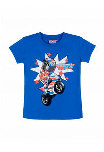 Kid t-shirt Andrea Dovizioso cartoon official collection