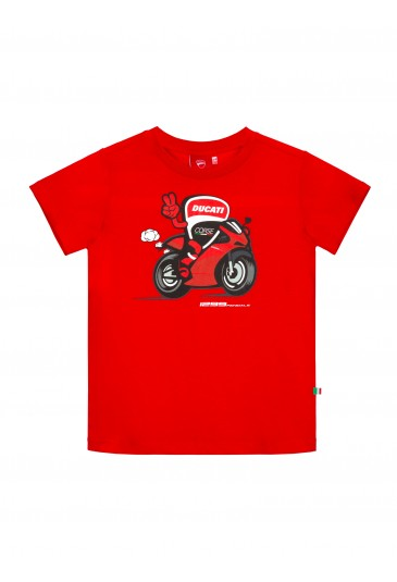 Kid T-shirt Ducati Corse Panigale official collection