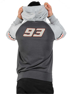 Hoodie casual Marc Marquez 93 official collection