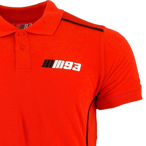 Polo shirt red Marc Marquez MM93 official collection