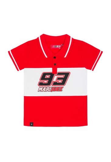 Polo shirt kid Marc Marquez MM93 official collection
