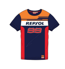 Load image into Gallery viewer, T-shirt Repsol Honda Jorge Lorenzo 99 MotoGP official collection