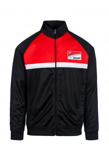 Sweatshirt Ducati Corse contrast yoke official collection