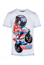 Load image into Gallery viewer, T-shirt Andrea Dovizioso 04 official cartoon collection