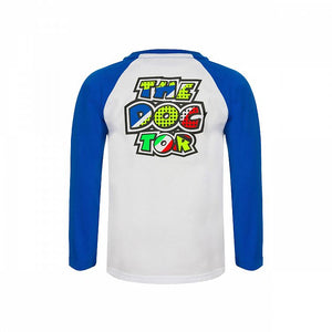 T-shirt kid long sleeve Pop Art VR46 official collection