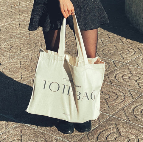 not just another tote bag
