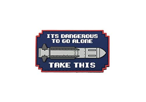 Patriot Patch Co - It'S Dangerous To Go Alone Patch (Missile)