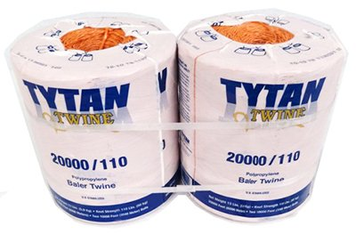 Tytan International Pbt20110Tonbp Baler Twine, Orange