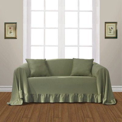 United Curtain Westwood Furniture Throw, 70 by 140-Inch, Sage