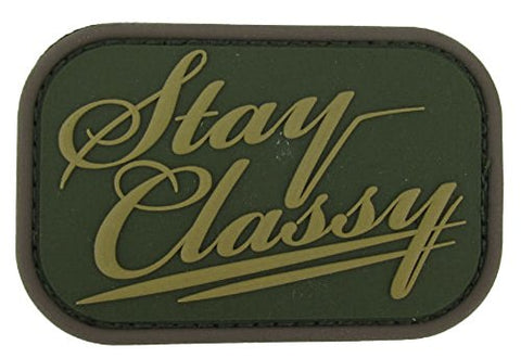 Mil-Spec Monkey Stay Classy Pvc Patch (Multicam)