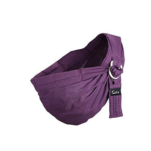 cd6a969d8d6 Kangaroobaby Baby Sling Wrap Carrier From Newborns To Todder Child Purple