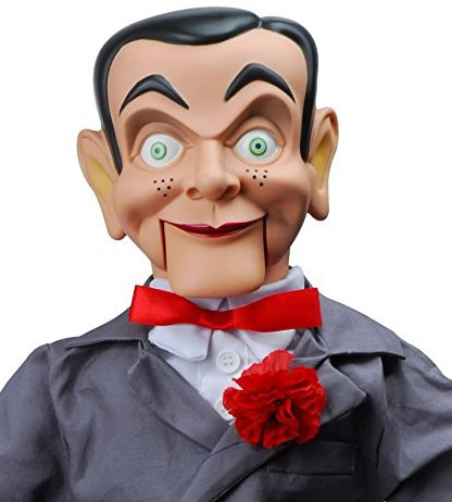 Slappy Dummy, Ventriloquist Doll Star of Goosebumps, Famous Ventriloquist Dummy. Has glow in the dark eyes. BONUS E-Book 'How to Be a Ventriloquist'