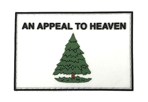 Patriot Patch Co - Patriotic &Amp; Historic Flag - Patches (Appeal To Heaven Flag)
