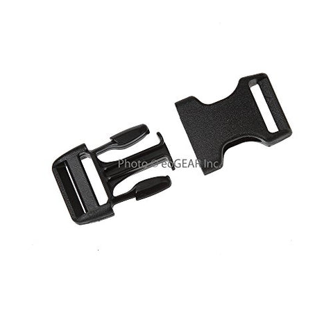 Duraflex Stealth Quick-Release Buckle (3/4  / 20Mm) 50 Pak