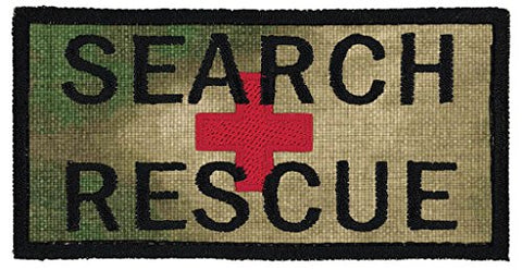 Northern Safari Search &Amp; Rescue 2 X4  Embroidered Patch Over 50 Fabrics To Choose! Same Day Ship! Made In The Usa! A-Tacs Fg Fabric 2  Tall X 4  Wide Hook Fastener