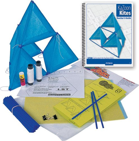 Pitsco KaZoon Kite Kit with Teacher's Guide (Individual Pack)