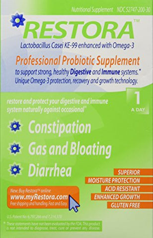 Restora Probiotic Supplement