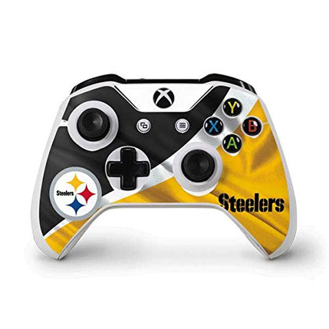 NFL Pittsburgh Steelers Xbox One S Controller Skin - Pittsburgh Steelers Vinyl Decal Skin For Your Xbox One S Controller