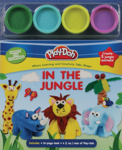 PLAY-DOH Hands on Learning: In the Jungle
