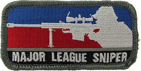 Major League Sniper Morale Patch (Full Color)