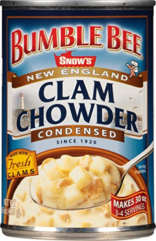 Snows New England Clam Chowder, Condensed, 15-Ounce Cans
