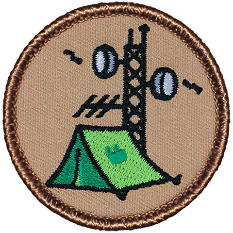 Radio Patrol Patch - 2  Diameter Round Embroidered Patch