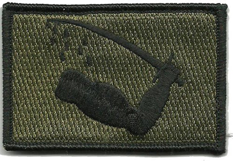 Gadsden And Culpeper Texas Goliad Tactical Patch (Olive Drab)