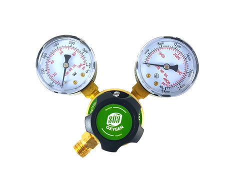 Sa - Oxygen Regulator Welding Gas Gauges - Cga-540 - Rear Connector - Ldp Series