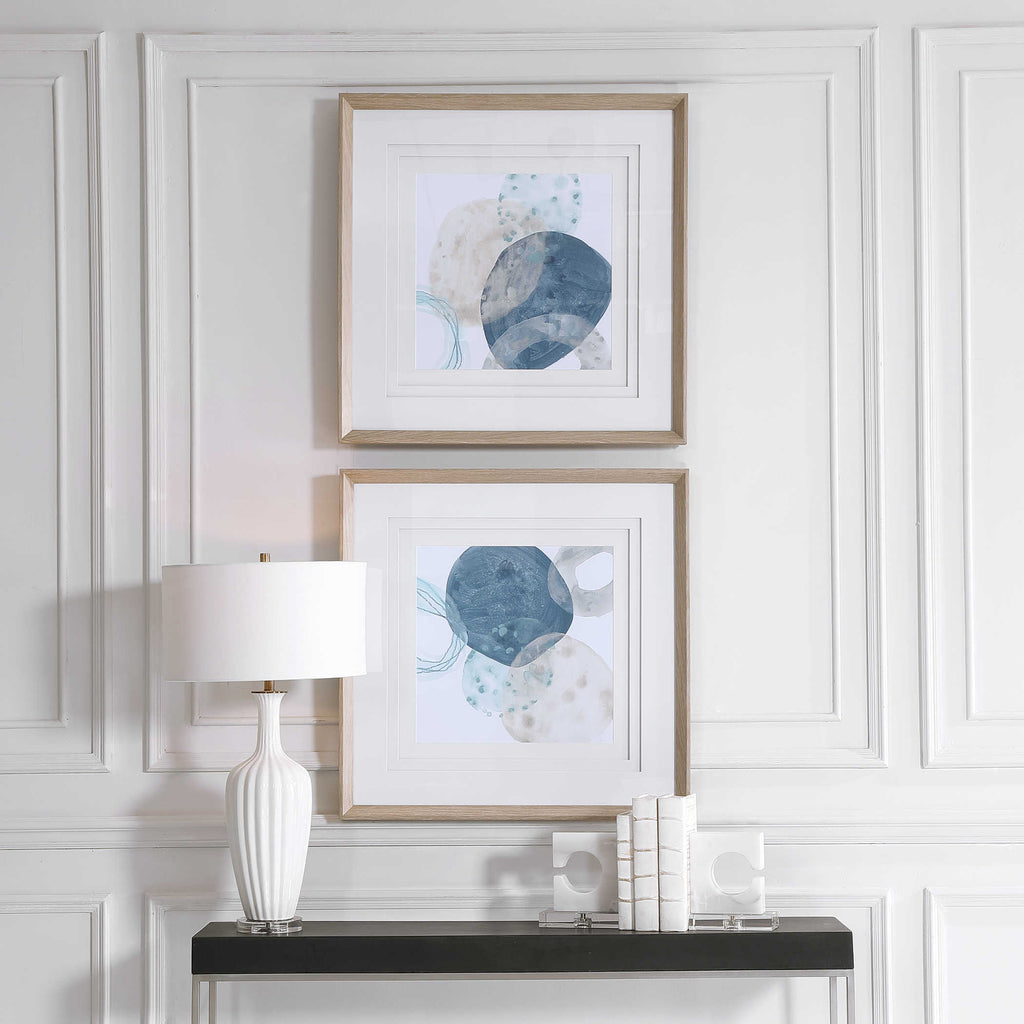 Angus Framed Prints, Set of 2