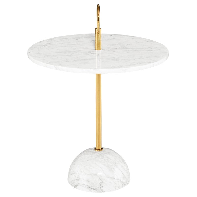 Aphrodite Dining Table With Gold Base