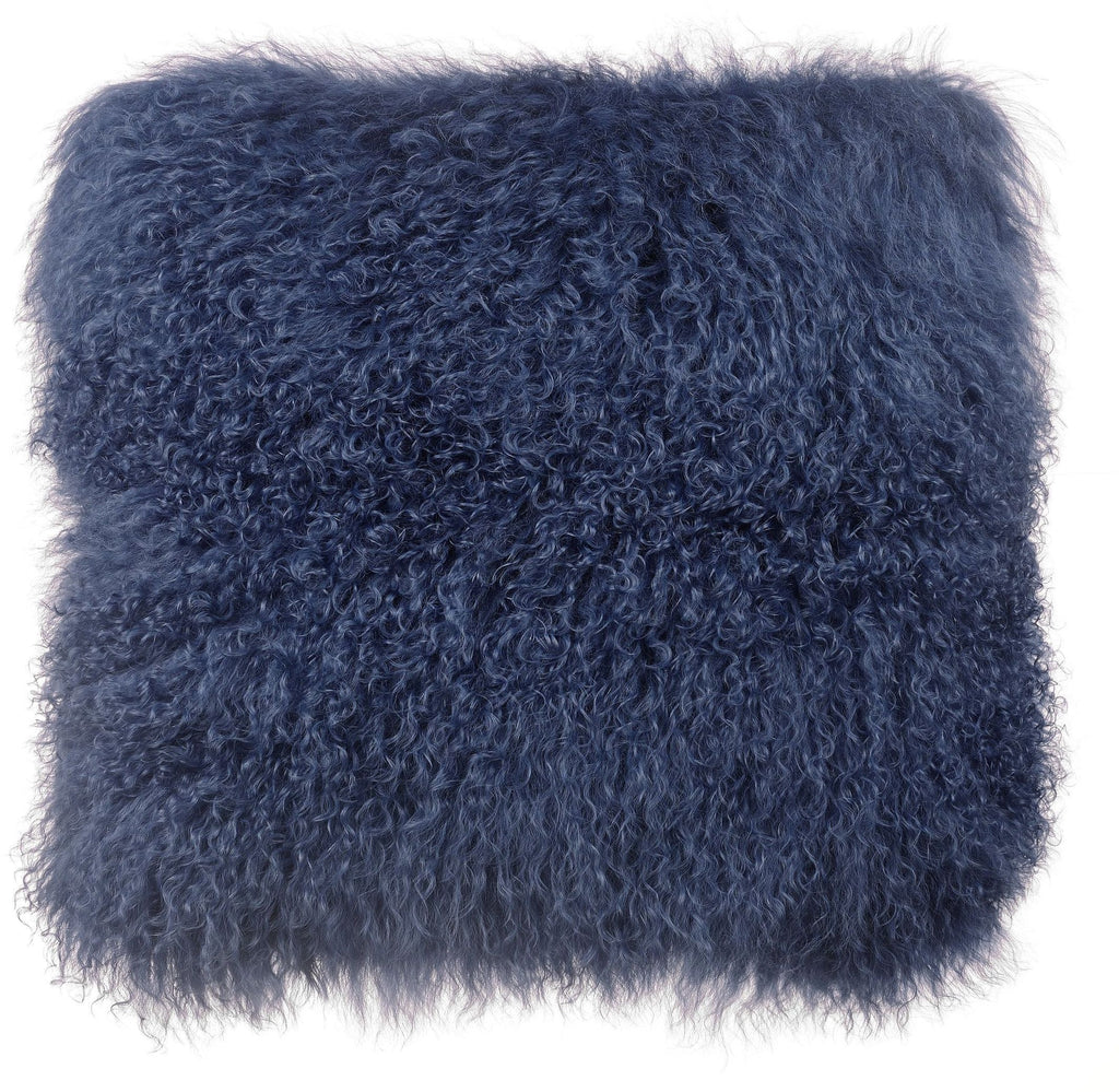 January Large Sheep Fur Pillow - Luxury Living Collection