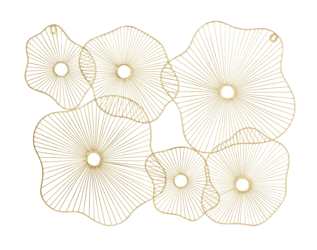Finola Gold Wall Art - Luxury Living Collection