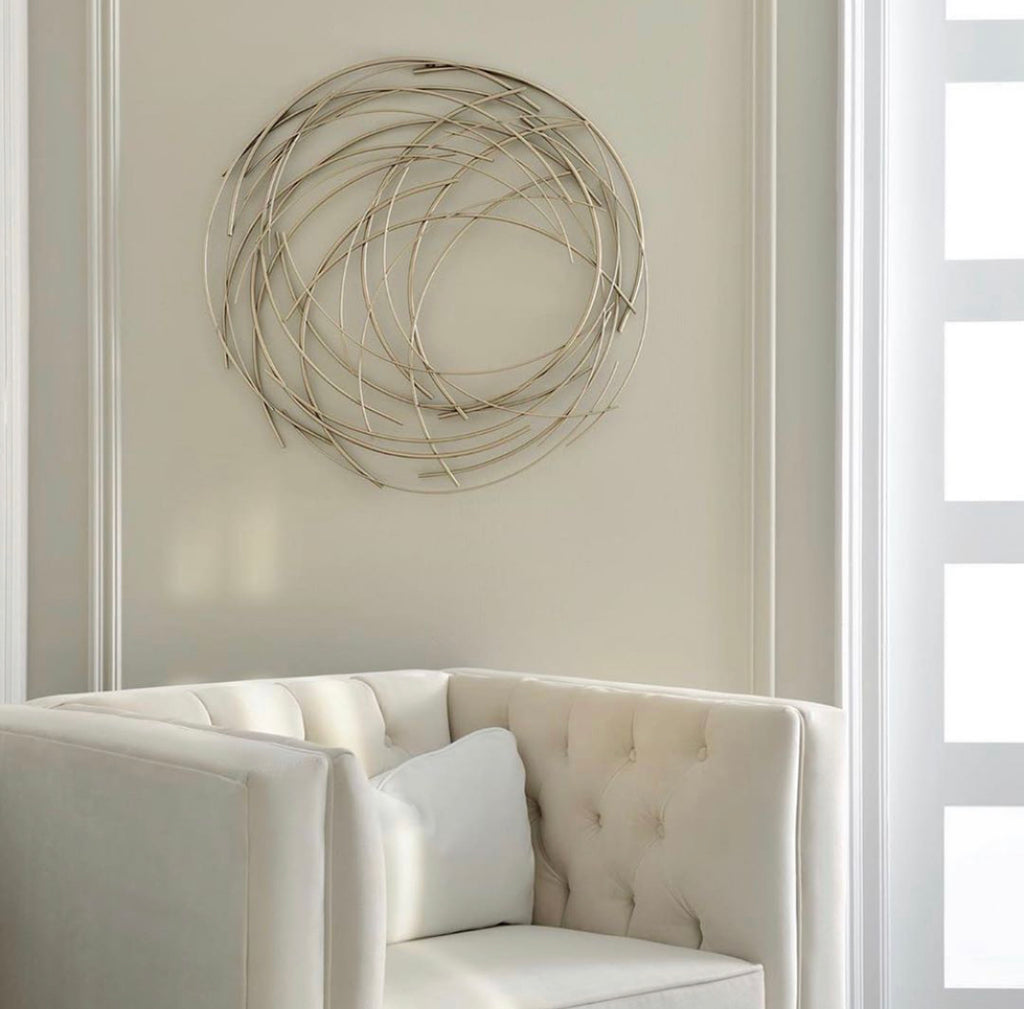 Atom Metal Wall Art