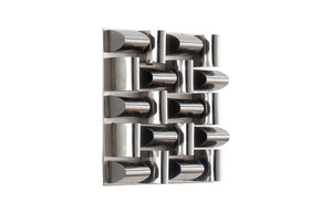 Aire Stainless Steel Pattern Wall Tile