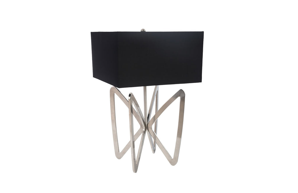 Wings Table Lamp (Stainless Steel)