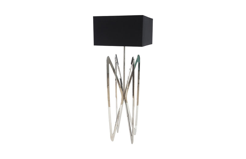 Wings Floor Lamp (Stainless Steel)