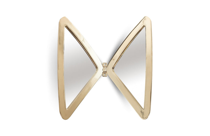Wings Mirror (Brass)