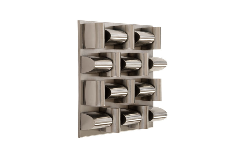 Aire Pattern Wall Tile (Black Nickel)
