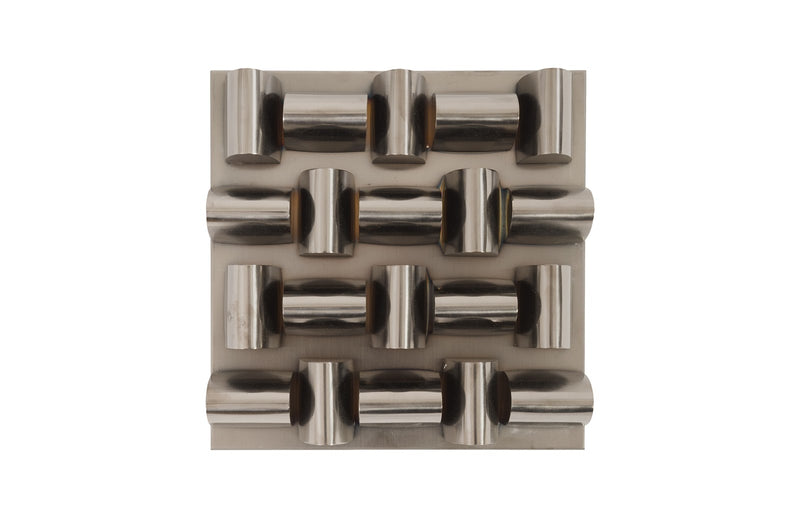 Aire Black Nickel Pattern Wall Tile
