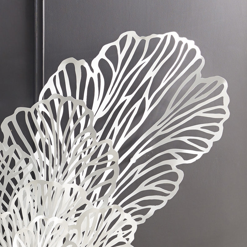 White Butterfly Wall Sculpture