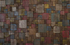 Puzzle Wood Wall Sculpture